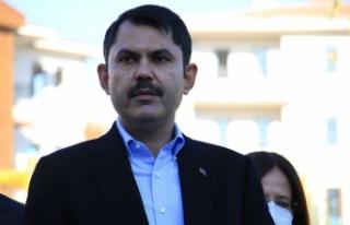"Bakan Kurum: ""Elazığ'da 19 bin 500 konuttan..."