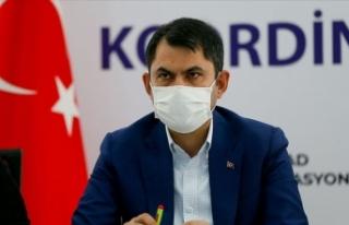 Çevre ve Şehircilik Bakanı Kurum: Enkazdan 91 saat...