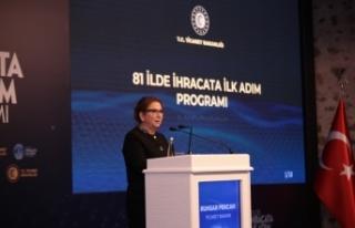 Bakan Pekcan: ''Ülke genelinde ihracat seferberliği...