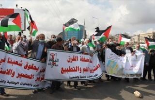 Balfour Deklarasyonu, 103. yılında Filistin'de...