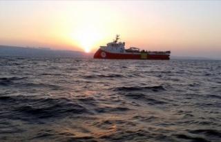 Barbaros Hayreddin Paşa gemisi 16 Şubat'a kadar...