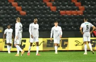 Beşiktaş 'eksi'den kurtulamadı