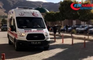 Bitlis'te tır ile yolcu otobüsü çarpıştı:...