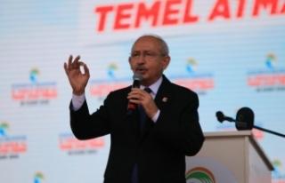 CHP Genel Başkanı Kemal Kılıçdaroğlu Adana'da...