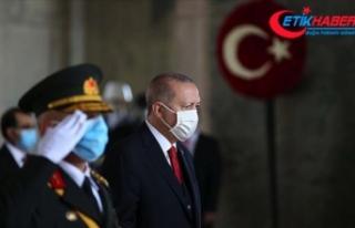 Erdoğan: Bizlere bağımsız bir ülke bırakan Atatürk...