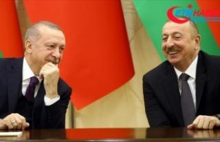 Cumhurbaşkanı Erdoğan Azerbaycan Cumhurbaşkanı...