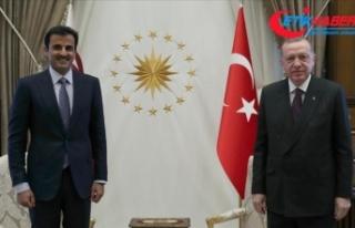Cumhurbaşkanı Erdoğan: Kardeş Katar halkıyla...