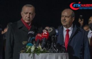 Cumhurbaşkanı Erdoğan: Kuzey Kıbrıs'a yapılan...