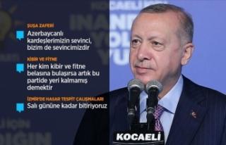 Cumhurbaşkanı Erdoğan: Bir yıl içerisinde depremzede...