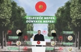 """Cumhurbaşkanı Erdoğan, """"Geleceğe Nefes, Dünyaya..."""