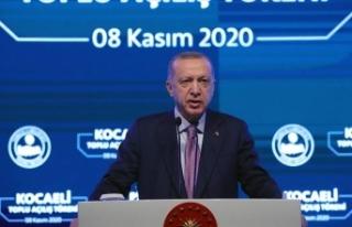 Cumhurbaşkanı Erdoğan: İş dünyamızın her meselesini...