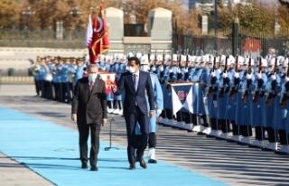 Cumhurbaşkanı Erdoğan, Katar Emiri Al Sani'yi...