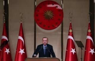 """Cumhurbaşkanı Erdoğan: """"Müslümanların kutsallarına..."""