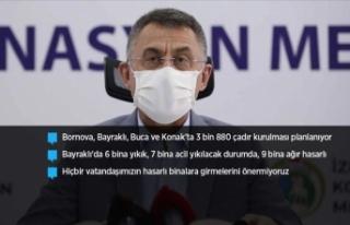 Cumhurbaşkanı Yardımcısı Oktay: İzmir'deki...