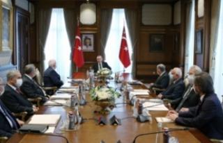 Cumhurbaşkanı Erdoğan, YİK toplantısına başkanlık...