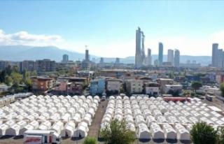 Deprem bölgesine gönderilen nakdi yardım 37 milyon...