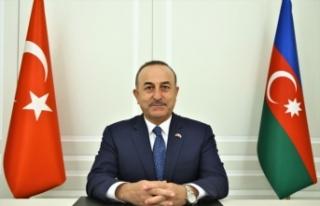 Dışişleri Bakanı Çavuşoğlu, Bakü'de basın...