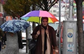 Doğu Karadeniz için kuvvetli yağış ve rüzgar...