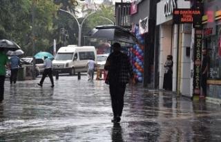 Doğu Karadeniz için şiddetli ve aşırı yağış...