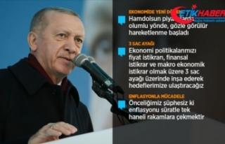 Erdoğan: Ekonomide ve hukukta yeni bir reform dönemi...