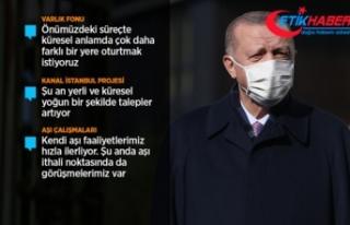 Erdoğan: Şu anda Sağlık Bakanlığımızın da...