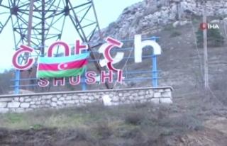 Azerbaycan, Ermenistan işgalinden kurtarılan Şuşa'dan...