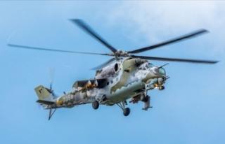 Ermenistan'da Rus askeri helikopteri düşürüldü:...