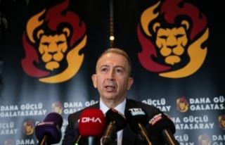 Galatasaray Kulübü Başkan Adayı Metin Öztürk,...