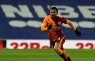 Galatasaraylı futbolcu Omar Elabdellaoui Kovid-19...