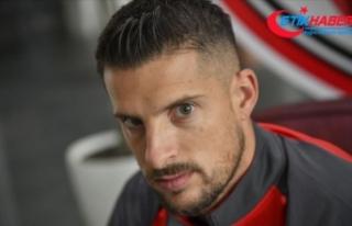 Gaziantep FK'nin Belçikalı futbolcusu Mirallas...