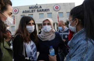 Pınar Gültekin cinayeti davasının görülmesine...