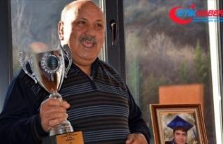 Güreş camiasının önemli isimlerinden Reşit Karabacak...