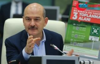 İçişleri Bakanı Soylu: Deprem toplanma alanını...