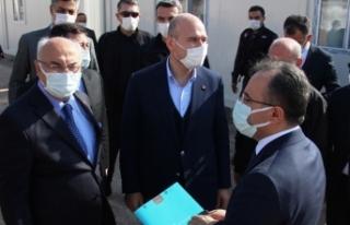 """İçişleri Bakanı Süleyman Soylu: """"Afetlerde..."""