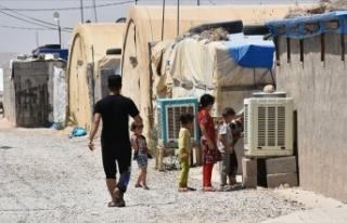 Irak'ta yaklaşık 4 bin iç göçmen evlerine...