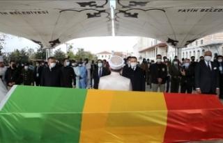 İstanbul'da vefat eden eski Mali Cumhurbaşkanı...