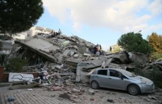 İzmir'deki depremde can kaybı 107'ye yükseldi