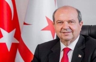 KKTC Cumhurbaşkanı Tatar'dan Atatürk'ün 82'nci...