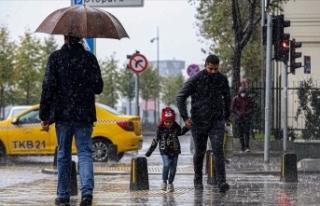 Marmara Bölgesi genelinde sağanak bekleniyor