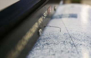 Marmara Denizi'nde 3,5 büyüklüğünde deprem...