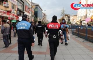 Maske, kurallarına uymayan bin 325 kişiye Sultanbeyli'de...