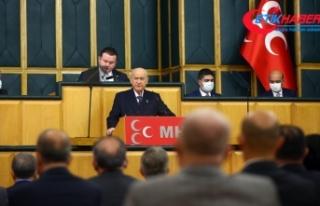 MHP Lideri Bahçeli: Türklüğü anayasadan çıkaracak...