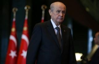 MHP Lideri Bahçeli, Davutoğlu'nun görüşme...