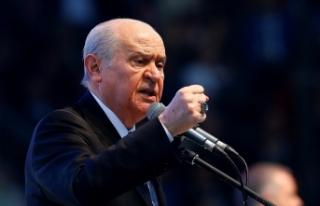 MHP Lideri Bahçeli: HDP, milletin vergileriyle aldığı...