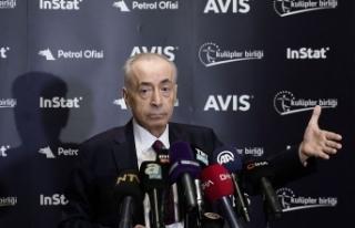 """Galatasaray Başkanı Mustafa Cengiz:""""Devre arasında..."""