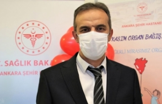 'Pandemi sürecinde de organ nakli yapmaya devam...