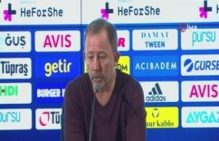 """Sergen Yalçın: """"Zaferler ancak savaşarak kazanılır"""""""