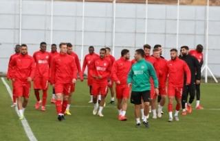 Sivasspor, Karabağ maçına hazır