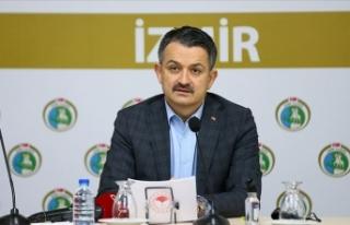 Tarım ve Orman Bakanı Pakdemirli: İzmir'deki...
