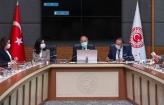 TBMM Sağlık Komisyonu Meclisin Kovid-19 sürecindeki...